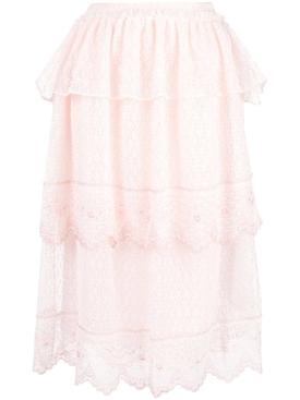 frill tiers skirt