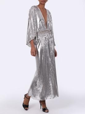 Chain-link Mesh Dress