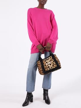 Leopard Print Cabas Bag