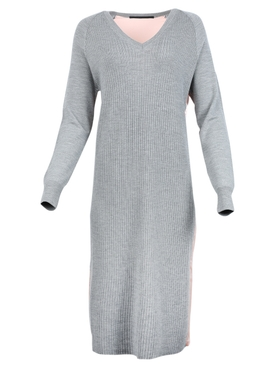 Haider Ackermann - Wool And Silk V-neck Dress - Women