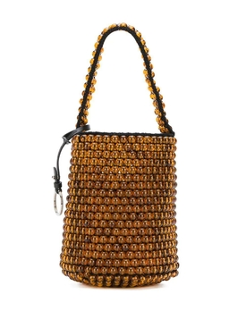 Jil Sander - Beaded Drawstring Bucket Bag - Women