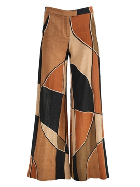 Lisa Marie Fernandez - Brown Wide Leg Pants - Women