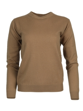Virgile cashmere crew neck sweater CAMEL
