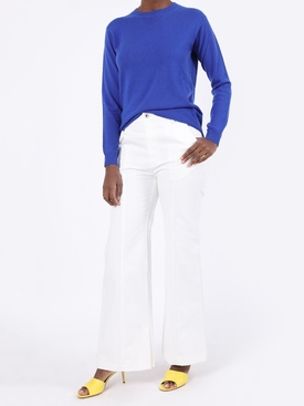Virgile cashmere crew neck sweater BLUE
