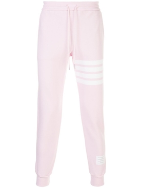 Thom Browne - Classic Striped Logo Sweatpants Light Pink - Men