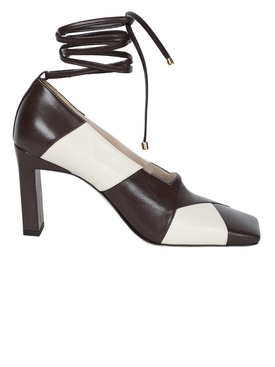 Wandler - Brown And Ivory Isa Mule - Women