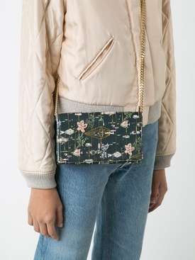 Preciously Paris X The Webster exclusive mini hand-embroiderd clutch