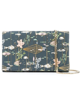 Preciously Paris X The Webster exclusive hand-embroiderd clutch