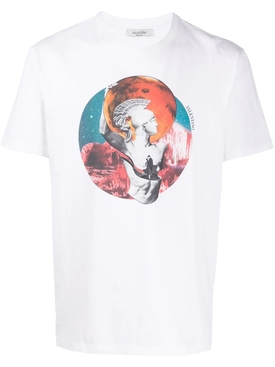 Valentino - Multicolored Soul Planets T-shirt Mars - Men