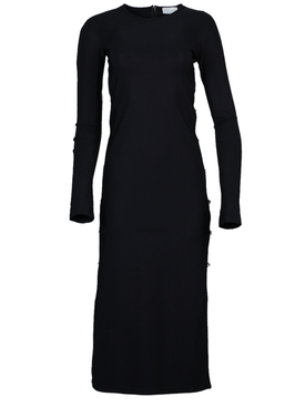 Marcia - Black Embellished Tchikiboum Dress - Women