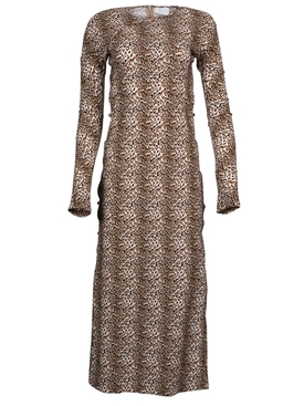 Marcia - Leopard Print Tchikiboum Dress - Women