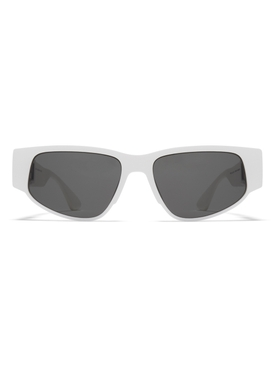 white cash sunglasses