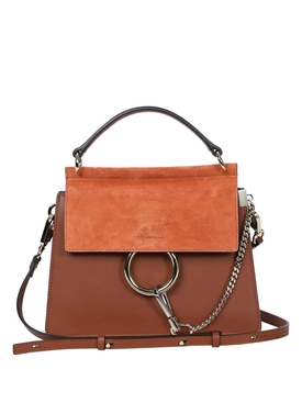 Chloé - Small Top Handle Faye Bag Brown - Women