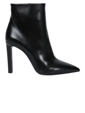 Kate zip ankle boot black