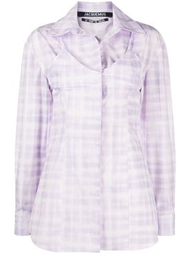 Jacquemus - La Chemise Valensole Purple Top - Women