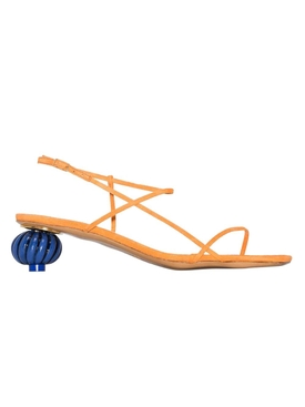 Manosque multi-strap sandals orange