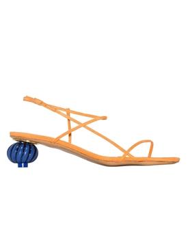 Manosque multi-strap sandals orange