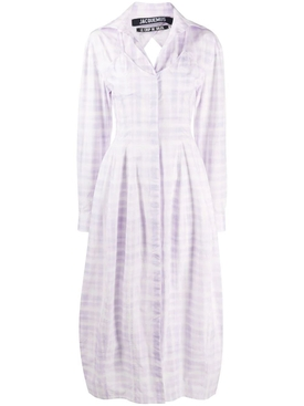 Jacquemus - La Robe Valensole Dress Purple - Women