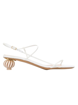 Jacquemus - Manosque Sculptural Heel Sandals - Women