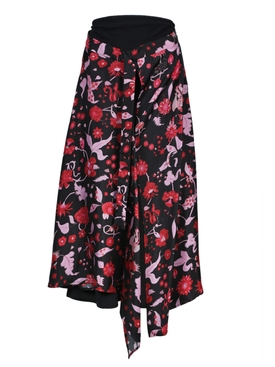 Floral Shock Waves skirt