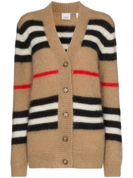 Burberry - Iconic Check Print Cardigan - Women
