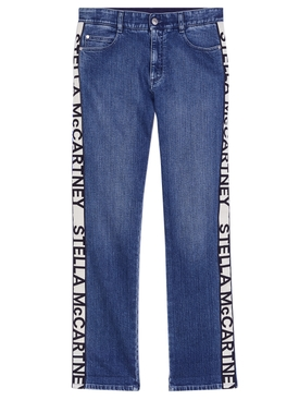 Stella Mccartney - Eco Stone Blue Denim - Women