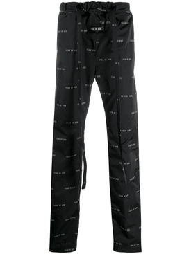 Fear Of God - Relaxed-fit Cargo Pants Black - Men