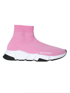 Balenciaga - Pink Speed Sock Sneaker - Women