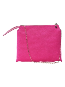 The Row - Nu Mini Twin Shoulder Bag Fuchsia - Women