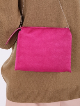 Nu Mini Twin Shoulder Bag FUCHSIA