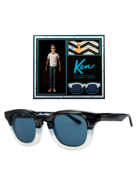 Thierry Lasry x Ken blue square sunglasses
