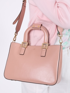 small top handle FF tote