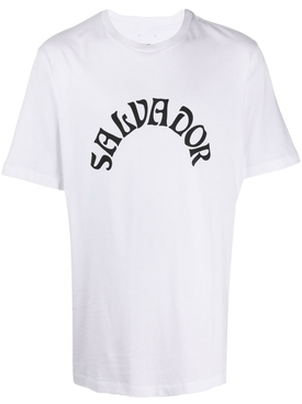 Salvador logo t-shirt white