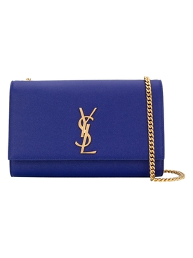 Sapphire blue Kate Medium monogram bag