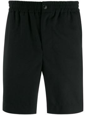 Wool Bermuda Shorts BLACK