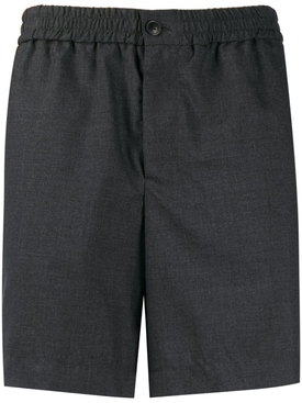 Wool Bermuda Shorts HEATHER GREY
