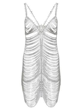 Crystal slip dress