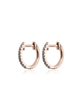 Rosa De La Cruz - 18kt Rose Gold Huggie Hoops - Women