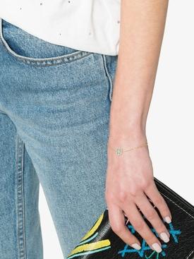 Turquoise Peace Charm Bracelet