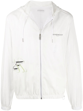Givenchy - White Floral Windbreaker Jacket - Men