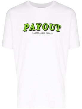 Payout logo t-shirt white