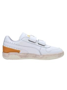 X KIDSUPER STUDIOS Ralph Samspon Low-Top Sneaker, White