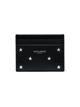 Saint Laurent - Star Embossed Cardholder - Men