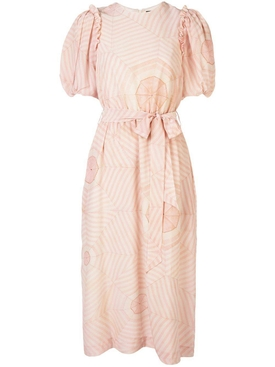 Simone Rocha - Pink Puffed Sleeve Dress - Women
