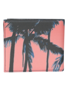 Sunset Pink Palm Tree Wallet