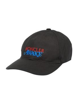 2 Moncler 1952 Awake Logo Cap BLACK