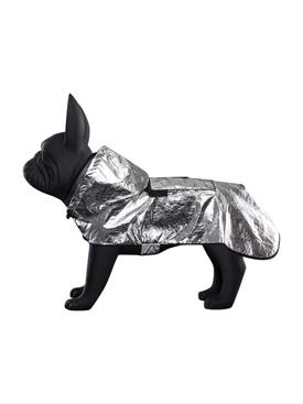 X Poldo Dog Couture Silver Mondog Cloak