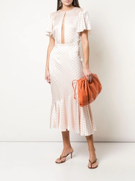 Light Pink Ingrid Polka Dot Dress