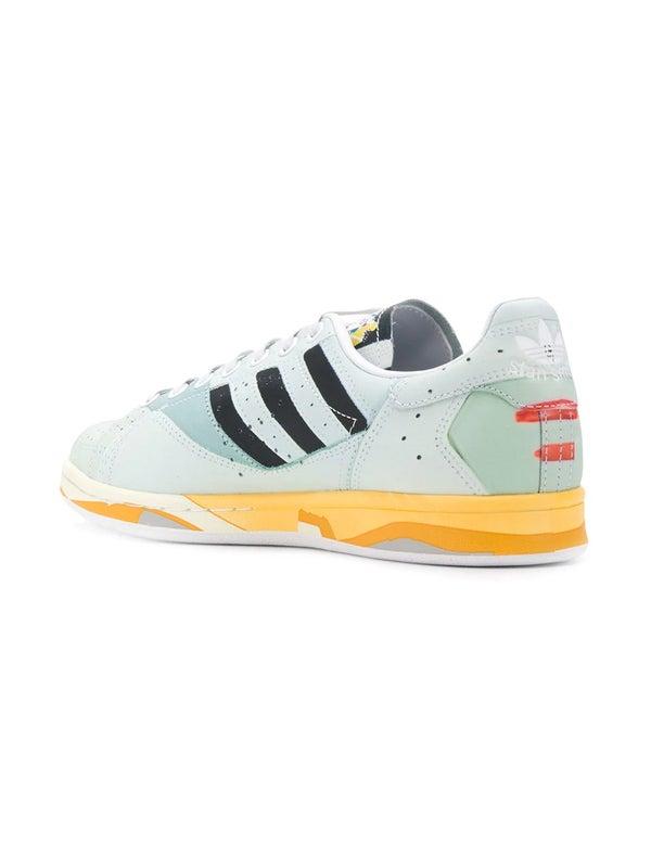 sports shoes b56a8 a5128 adidas by raf simons stan smith TROMPE L'OEIL PEACH