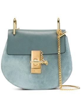 Drew shoulder bag CLOUDY BLUE